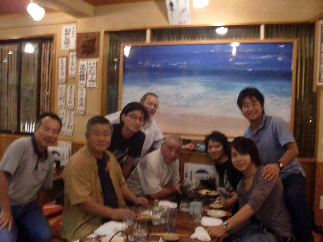 A wonderful surprise visit by Kobayashi Shihan