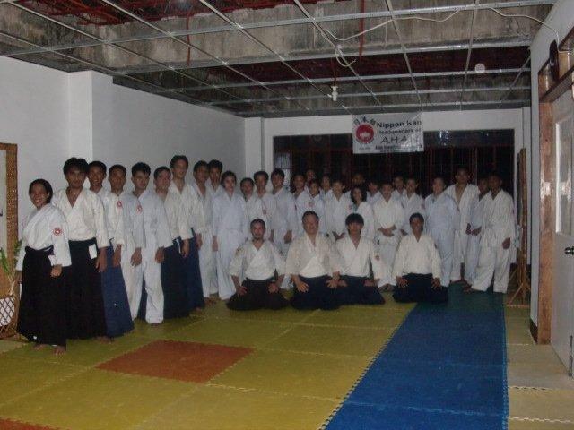 With Ava Sensei's students