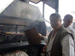 Camel meat BBQ restaurant