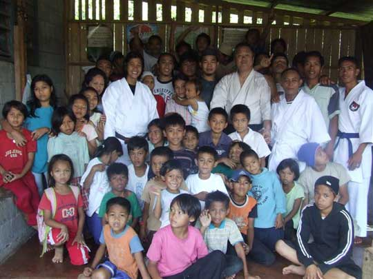 The dojo in Marawi is an important gathering place.