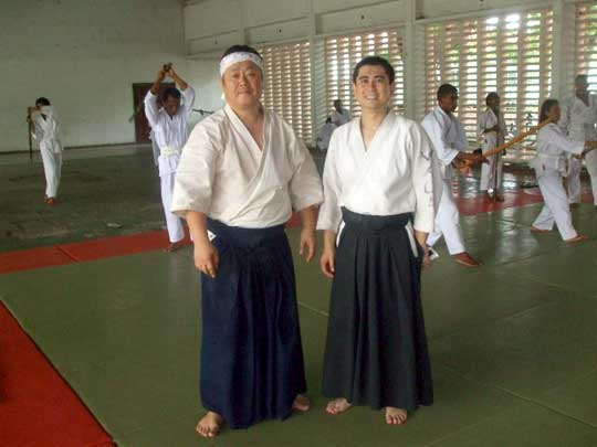 With Wada Sensei