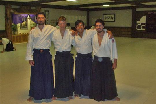 from left, Emrah, Michele, Arturo, Alberto.
