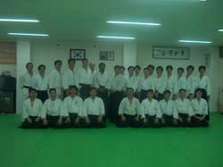 With Yoon Sensei and his students.