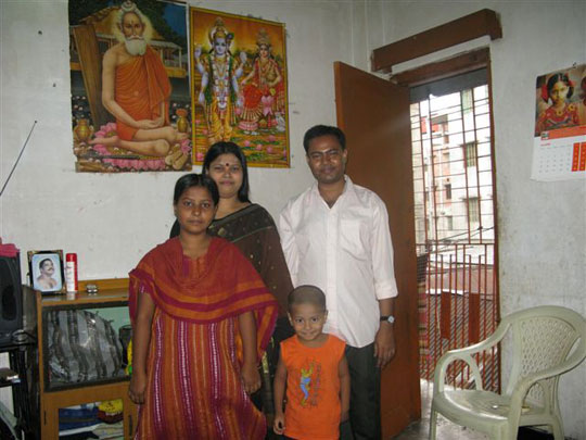 Barbar Ratan's family.