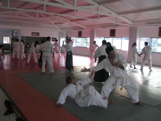 Practice at Cali Nippon Budokan.