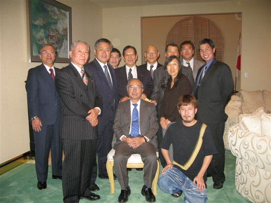 Colorado Martial Art Instructor Association with Consul General Kubo.