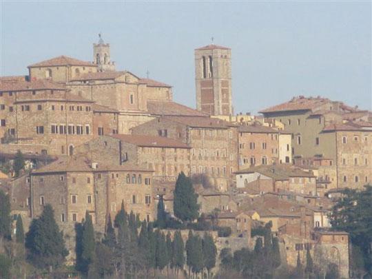 Old castle village.