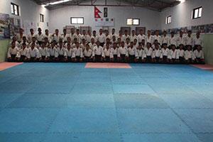March 2015 Aikido Instructor cadet training class