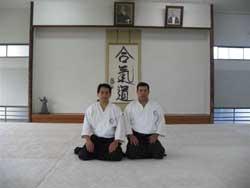 At Aikikai Hombu Dojo.