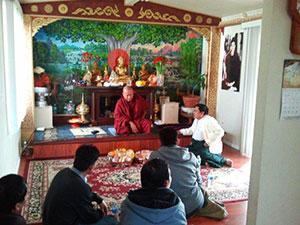 Visiting the Myanmar Dharmaparala Temple in Denver