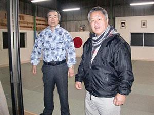 Homma Kancho and Maruyama Sensei