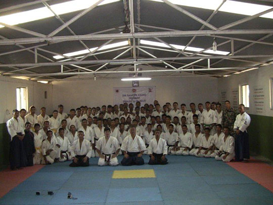 Training with instructor candidates