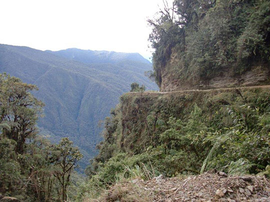 The road built by the ancient Incas, 4000 meters high