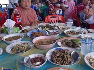 Traditional foods of the Karen tribe