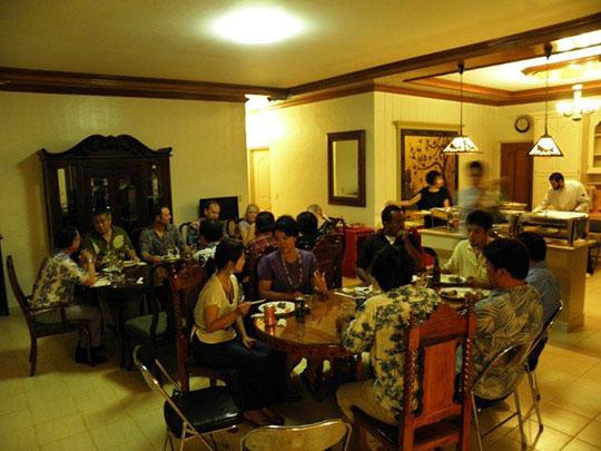 Reception at the home of Ambassador Kashima