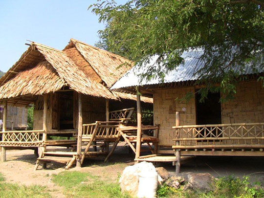 Construction of the guest houses complete
