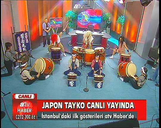 LIVE! On Turkish Television.